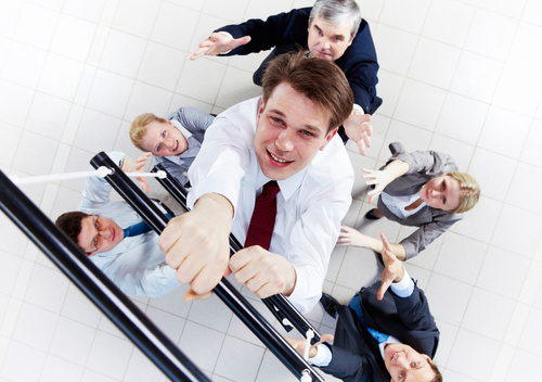 Forget Climbing the Corporate Ladder Move Laterally Instead