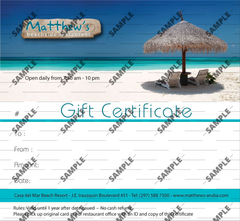Travel Agency Voucher Templatevacation Gift Certificate Template 34
