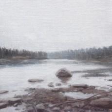 North Saskatchewan River Sketch