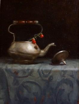 Teapot and Berries