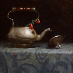 Teapot and Berries