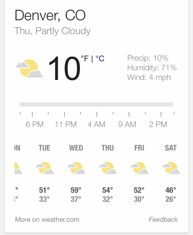 Denver News Radar: Extended Denver, Colorado Forecast For Display Weekend