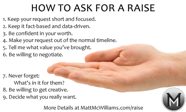 How to Ask for a Raise 9 Tips to Get What You Want