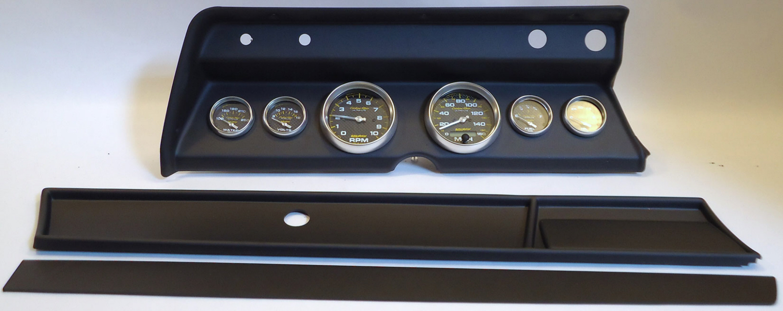 Tach Wiring Auto Electrical Diagram Jtr 280z V8 66 Chevelle Dash Carrier Panel With Meter Carbon