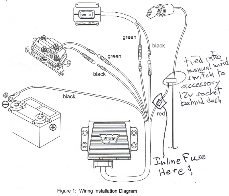 warn winch controller wiring diagram on old black wiring diagram