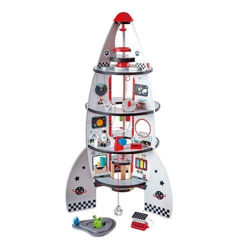 Hape Four Stage Wooden Rocket Ship