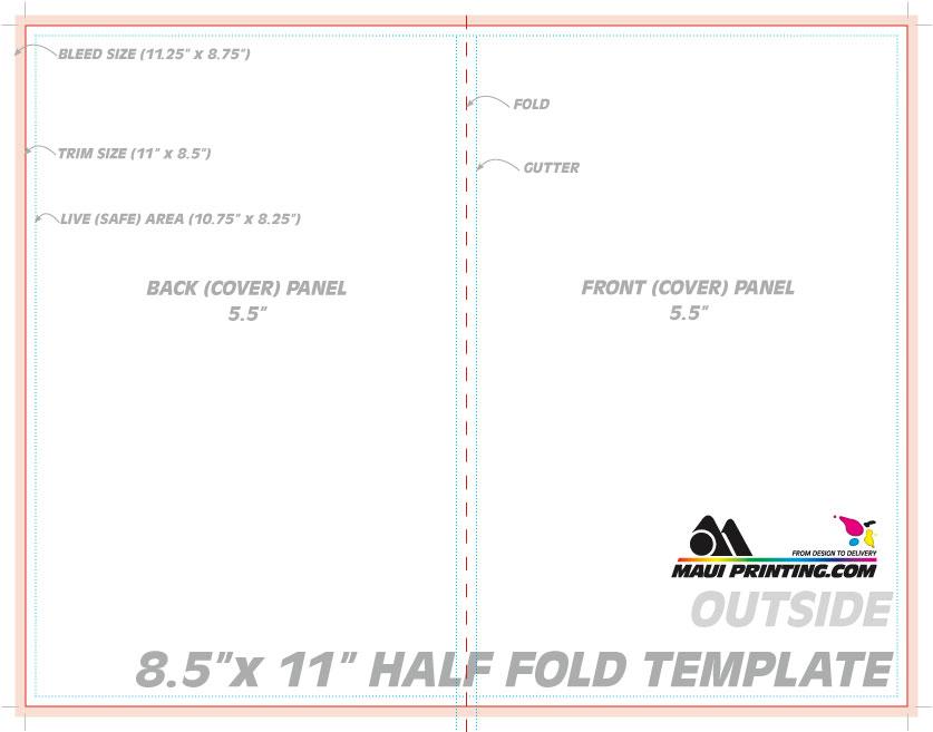 half fold brochure size - Selol-ink - half fold brochure template