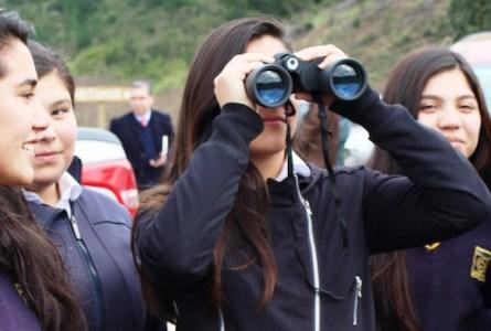 Niñas observadoras