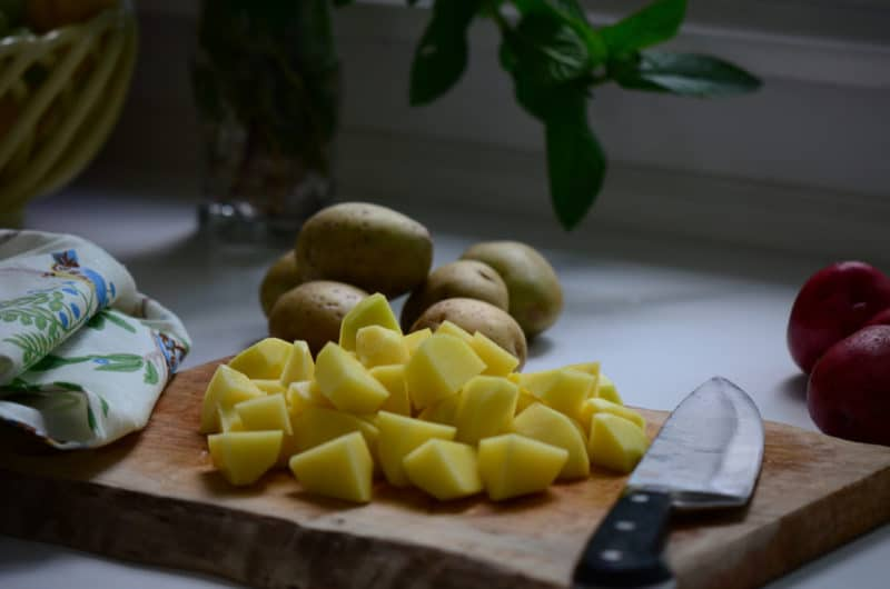 Technique: How To Cook Potatoes Perfectly For Salad - Rose Water