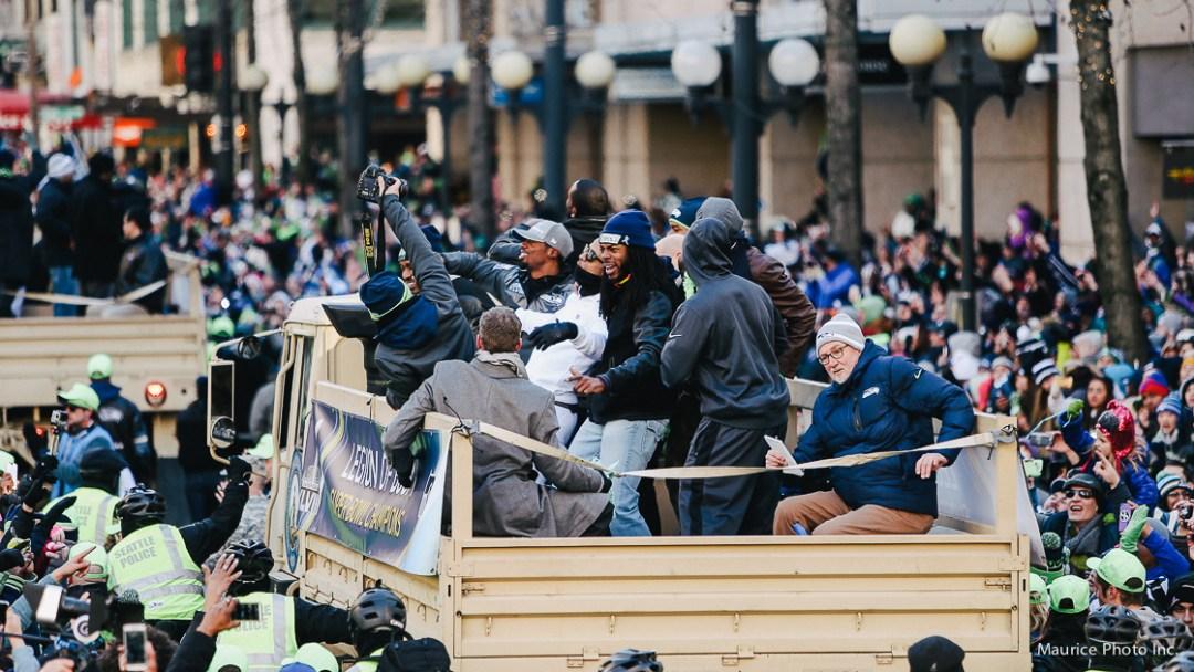 LOB victory Parade