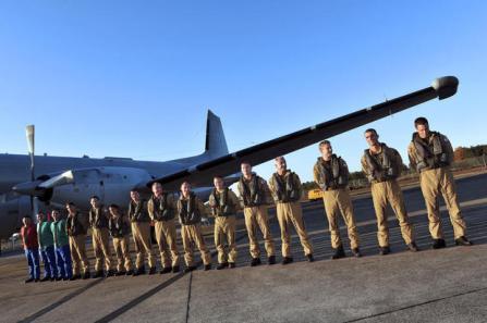 Piloti francesi che nel 2011 hallo liberato i libici da Gheddafi