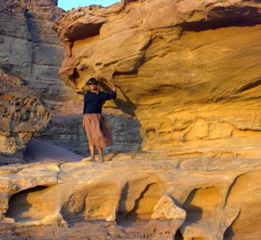 Wadi Rum and a sky full of stars