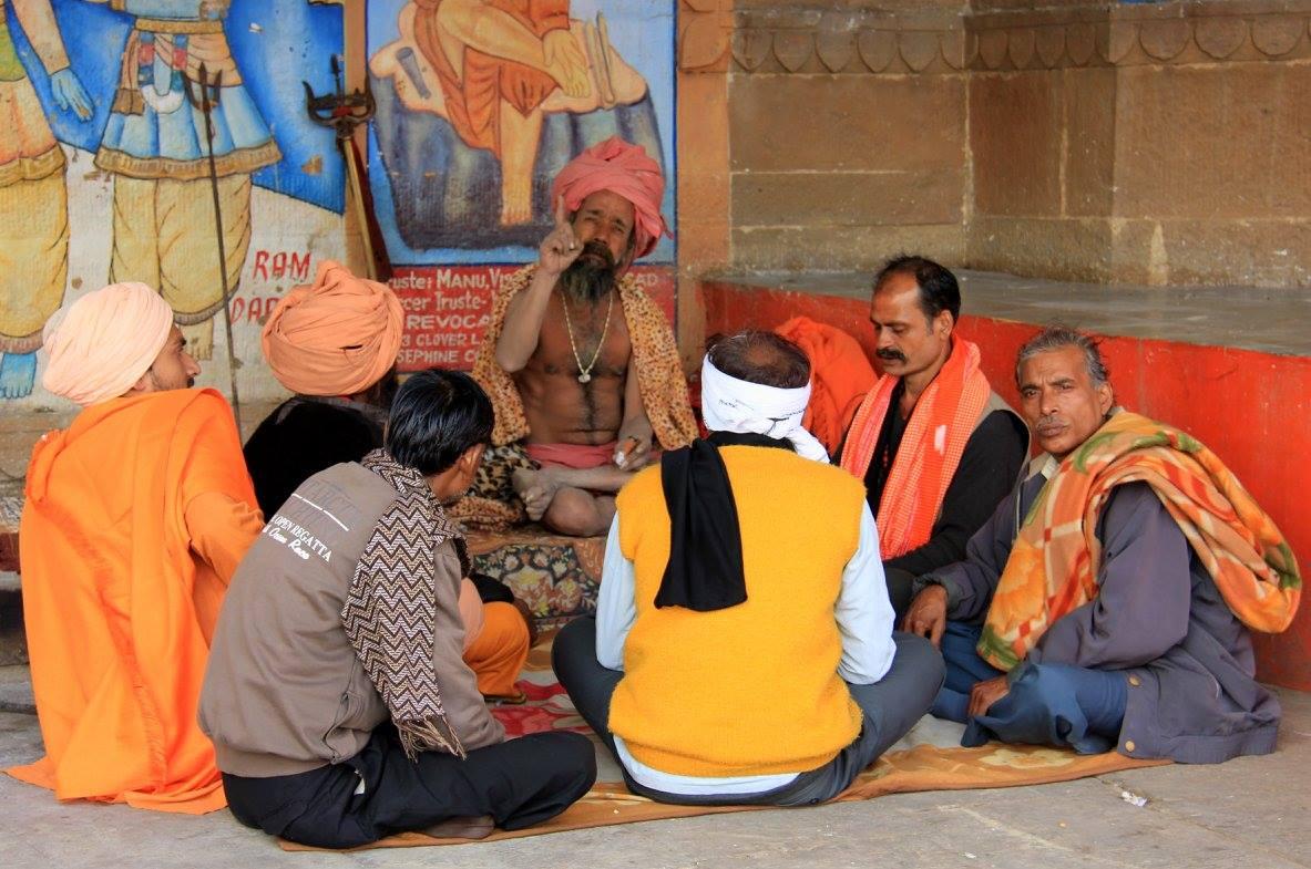 Life along the Varanasi Ghats