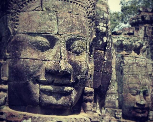 Bayon, the smile of Angkor