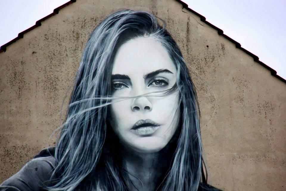 Vibrant Cologne street art