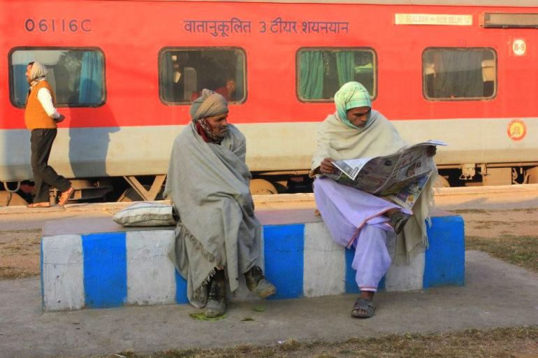 A train ride to rural Rajasthan