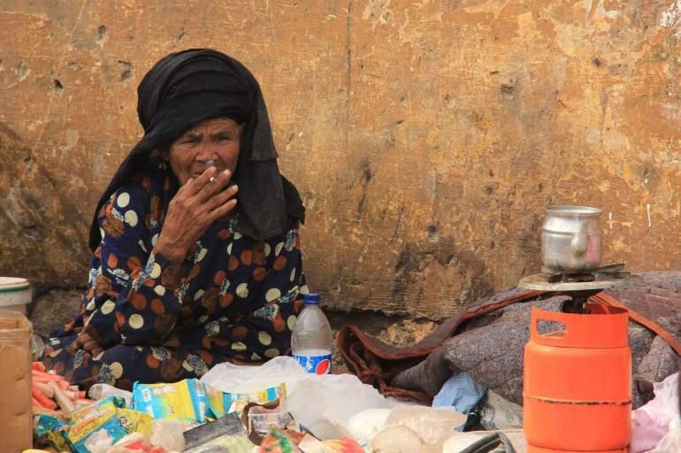 Egypt's biggest flea market Souq al Goma in photos