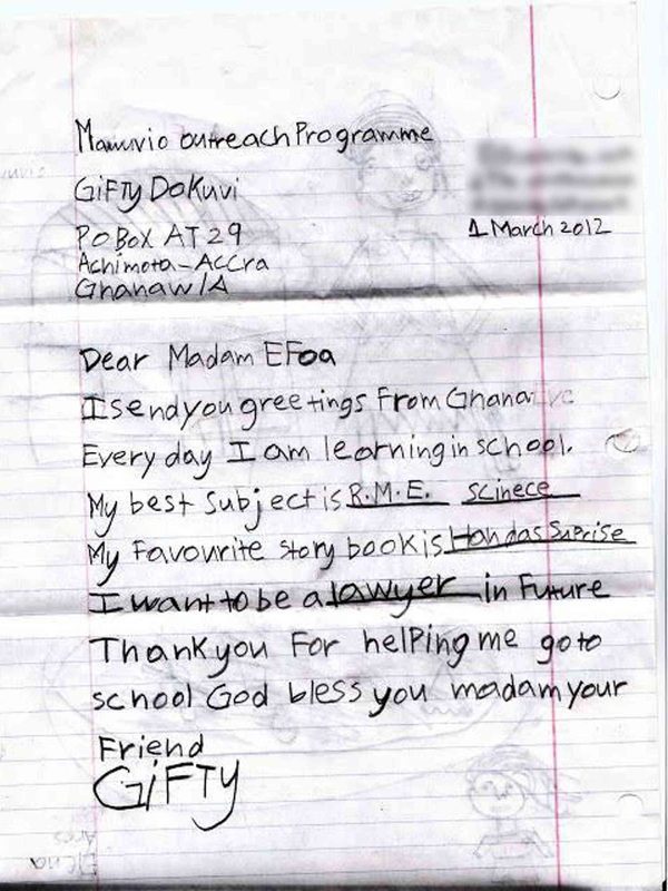child letter - Roho4senses - child letter
