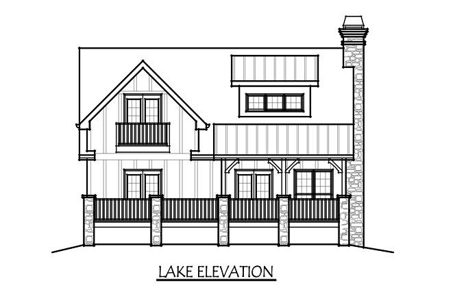 3 Story Lake House Plans House Plan   Lake House Plans