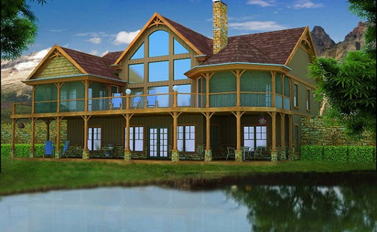lake house plans specializing in lake home floor plans small lake house plans