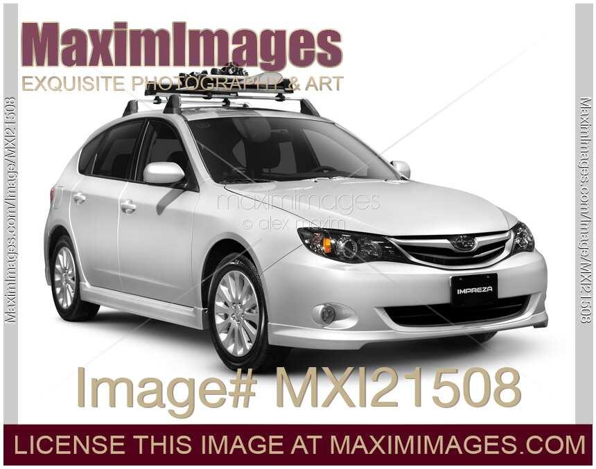 Stock Photo 2010 Subaru Impreza Car Maximimages