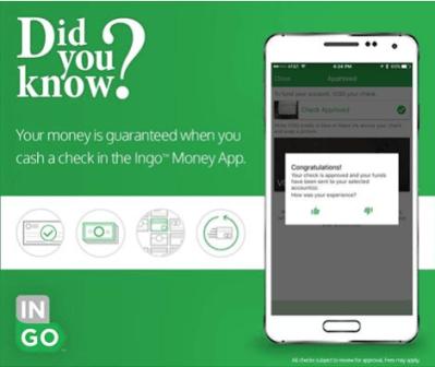 Ingo Money Check Cashing App $15 Referral Bonus