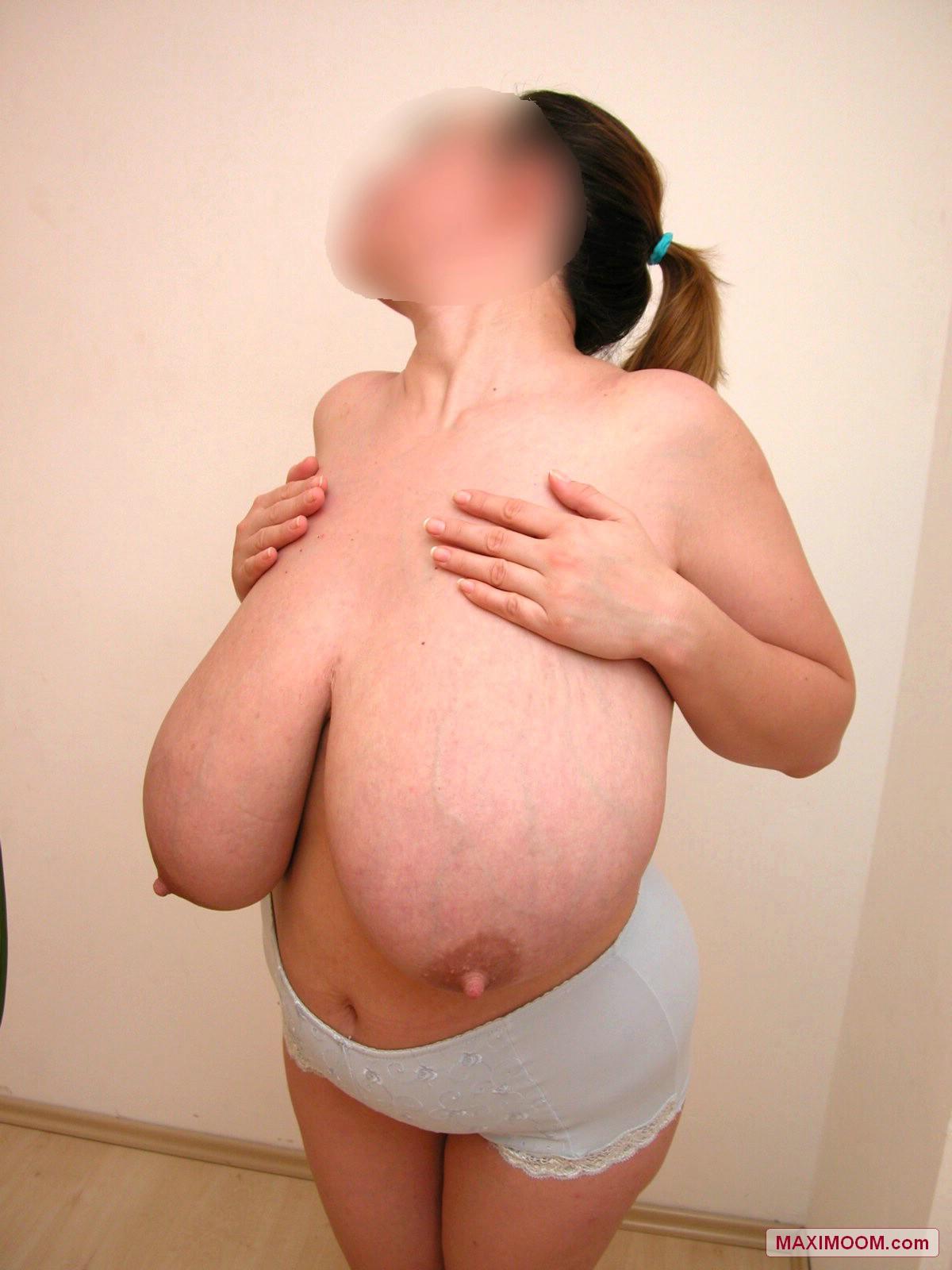 Super macromastia saggy big boobs russian milk 5