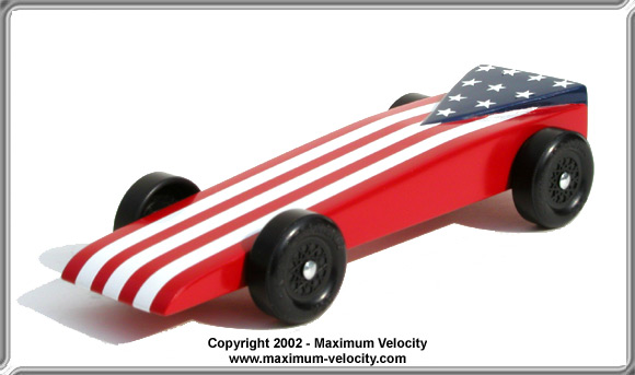 Pinewood Derby Car Plans 3 Maximum Velocity