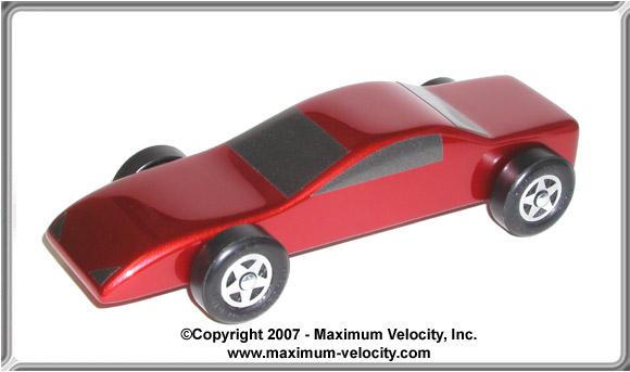 Pinewood Derby Car Plans 6 Maximum Velocity