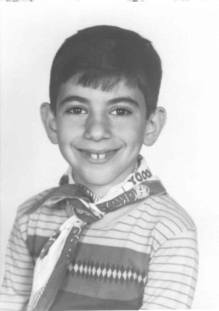 Young Timmy (photo courtesy of Tim's brother, Tom Yohannan)