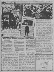 Convention protests from MRR #16 - Aug 1984_Page_1