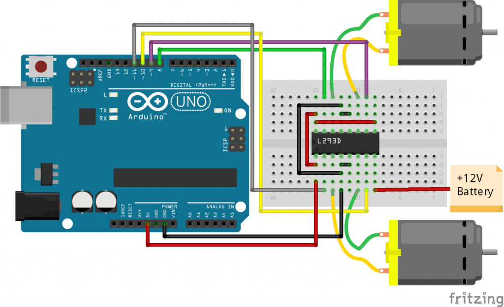 arduino input wiring diagram for power