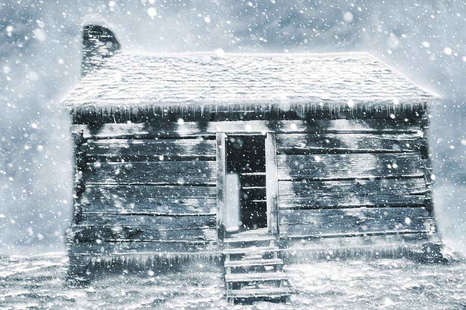 Vintage Black Wallpaper Free Photo Abandoned Hut Shack Snow Art Design Winter