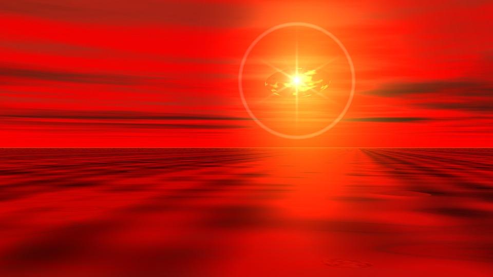Black Abstract Wallpaper Free Photo Bright Sun Shining Sunset Abstract Horizon