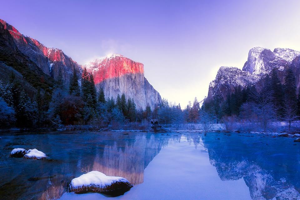 Free Fall Desktop Wallpaper For Mac Free Photo California Mountains Yosemite Snow National