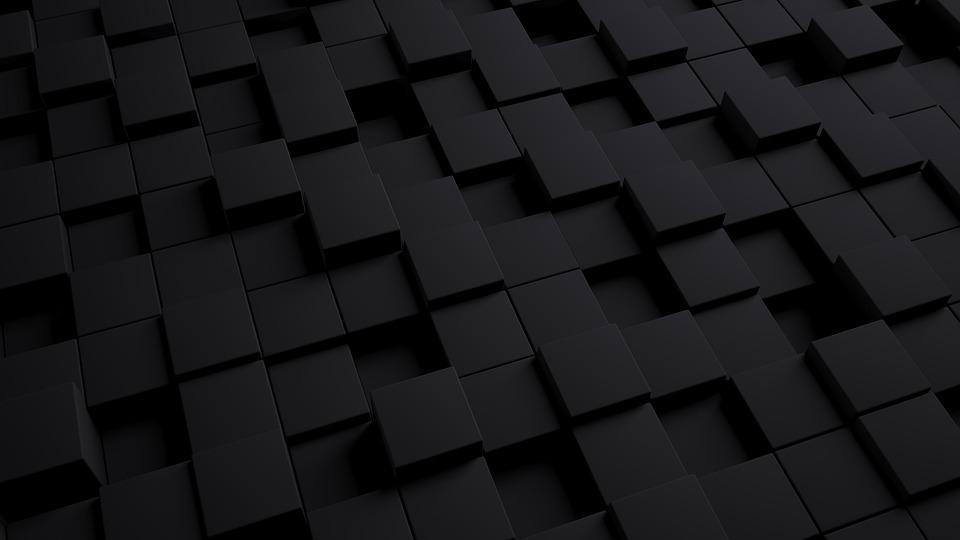 Free photo Cube Texture Model Pattern Dark Background 3d - Max Pixel