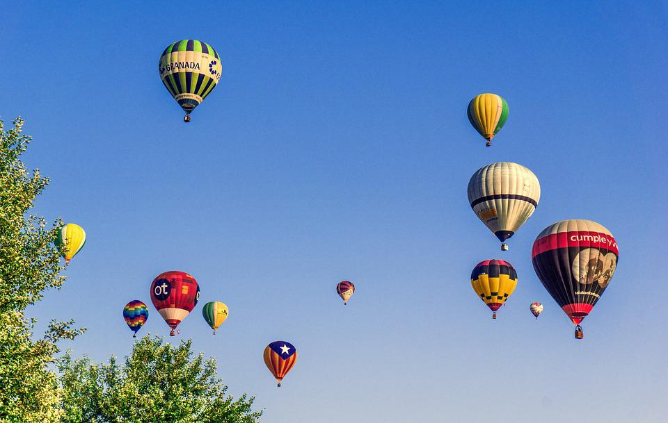 Free photo Fly Hot Air Balloons Floating Flyers Adventure - Max Pixel