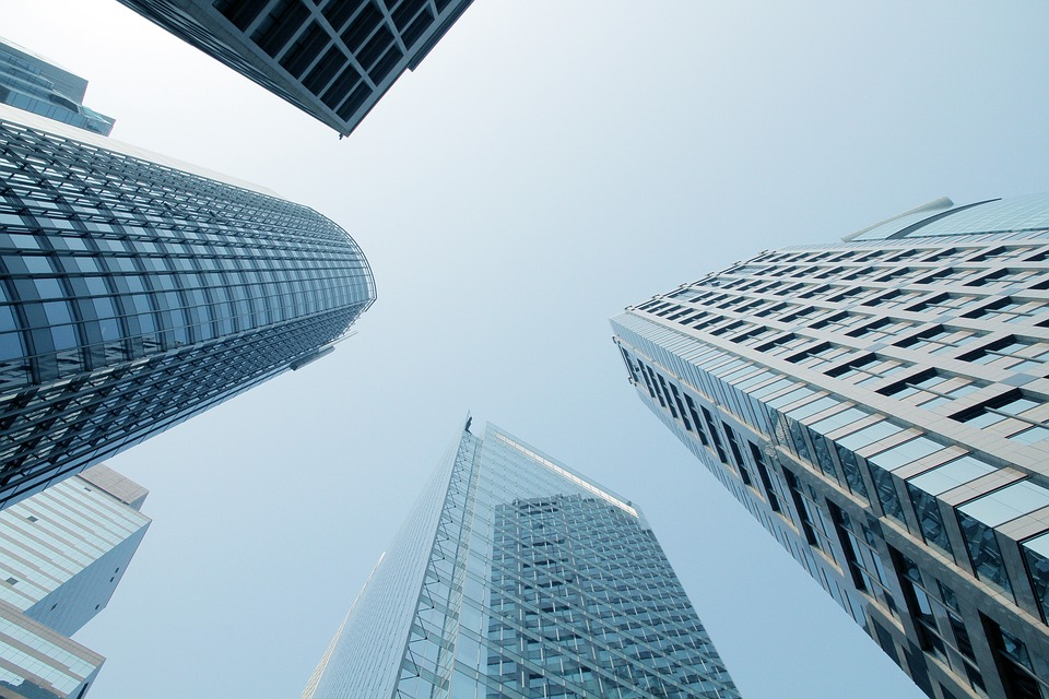 Free Animated Wallpaper Backgrounds Free Photo Glass Skyscrapers Architecture City Sky