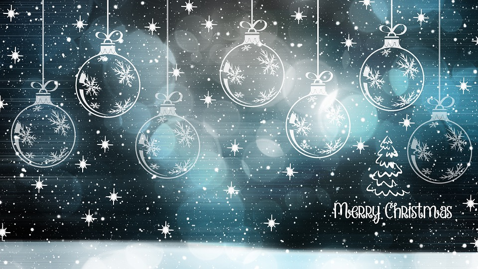 Free photo Happy Holidays Christmas Card Christmas Bauble - Max Pixel