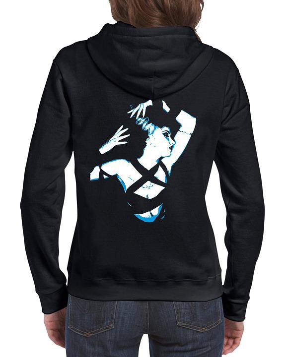 Free photo Hoodie Clothing Jacket Sweatshirt Sweater Template - Max
