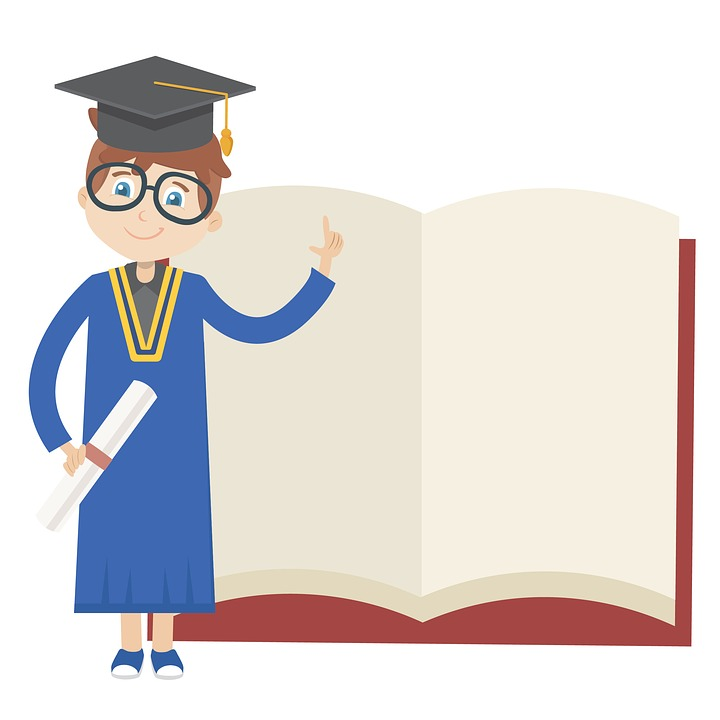 Free photo Knowledge Education Illustration Book Graduation - Max Pixel