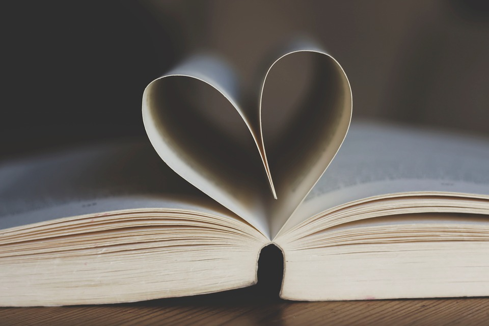 Free photo Leaves Book Pages Heart Heart Shape Book Open - Max Pixel