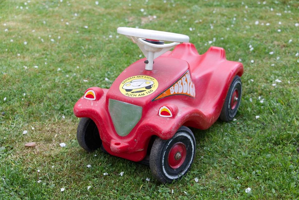 Free photo Mini Car Bobby Car Red Auto Children Toys - Max Pixel