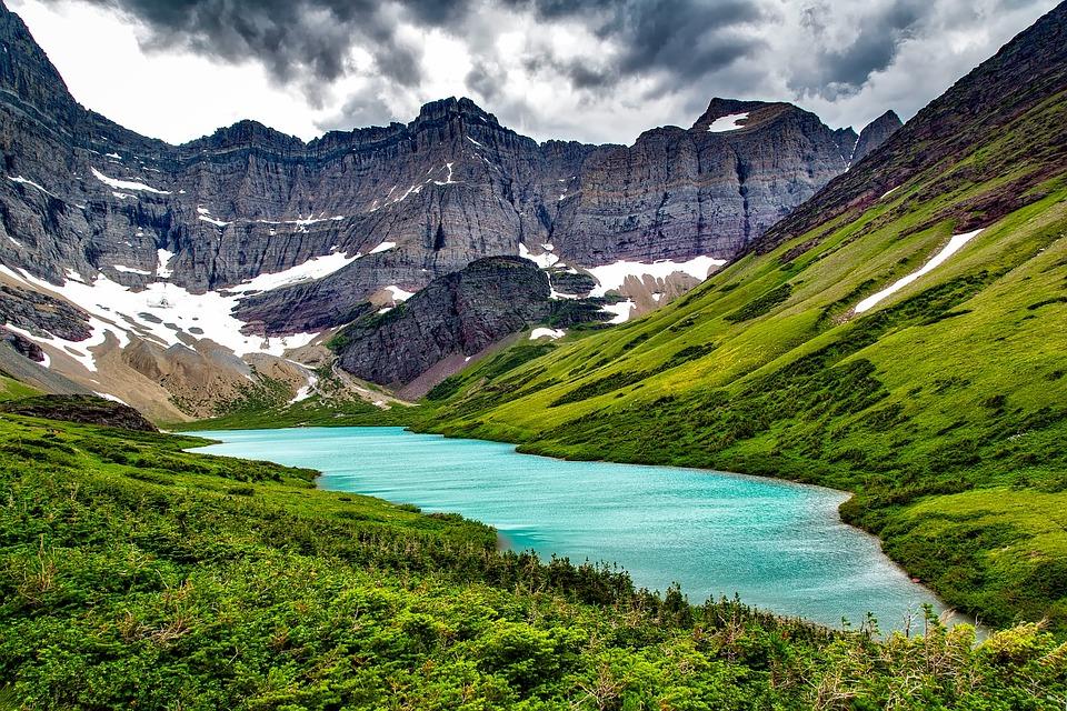 Natural Falls Wallpaper Free Download Free Photo Montana Glacier National Park Mountains Cracker