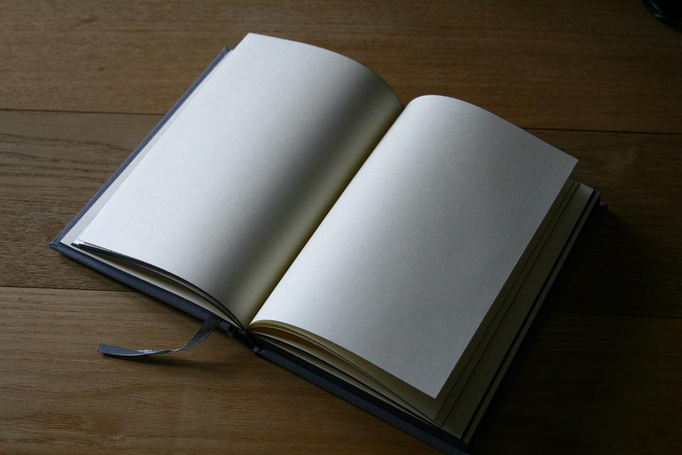 Free photo Page Book Studying Pages Of A Book Blank Open Book - Max
