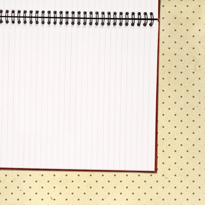Free photo Paper Notebook Blank Sheet Empty Scrapbook - Max Pixel - blank sheet of paper with lines