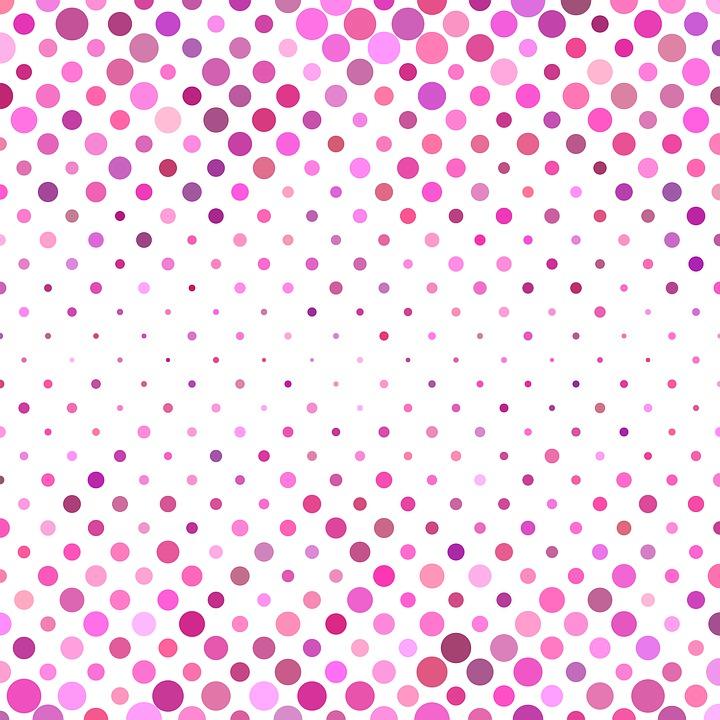 Free photo Pink Geometrical Circle Dot Background Pattern - Max Pixel