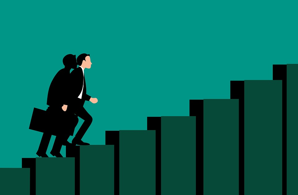 Black And White And Red Wallpaper Free Photo Stair Businessman Path Success Corporate Career
