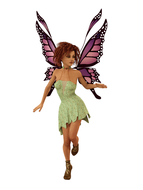 Pretty Girl Wallpaper Free Download Free Photo Fairy Vintage Weathered Elf Fee Wing