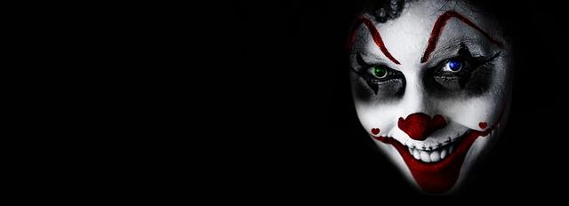 3d Flower Wallpaper For Desktop Free Photo Face Grin Horror Fear Halloween Creepy It Clown